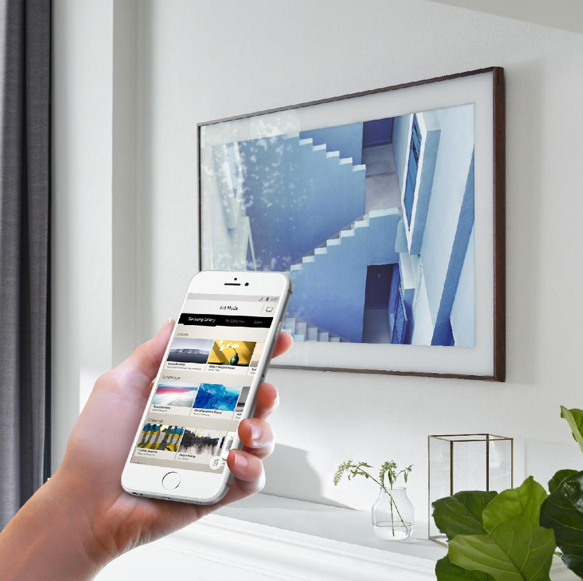 samsung frame tv. samsung frame tv companion app tv
